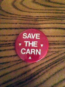 East Village Project Artwalk shirt Chuck Kaminski save the carn