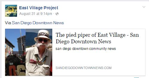 SD Downtown news article
