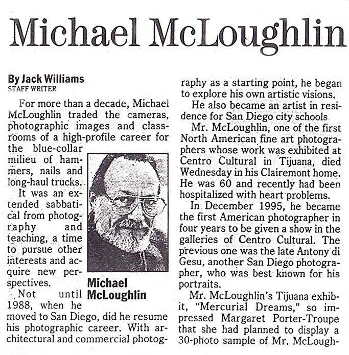Michael Mcloughlin 1