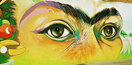 East Village Project Mario Torero Frida Eyes