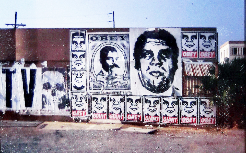 East Village Project Street Art Shepard Fairey 1999 Obey Giant ...